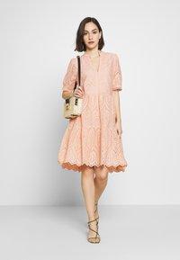 YAS - YASHOLI DRESS  - Day dress - cameo rose - 1
