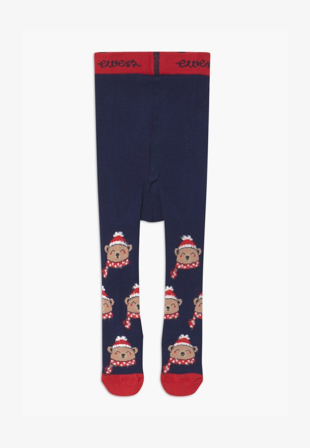 THERMO BABY CHRISTMAS BAER UNISEX - Tights - marine