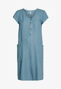 Soyaconcept - LIV - Spijkerjurk - light blue denim - 3