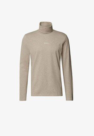 TEKNIT - Long sleeved top - open brown