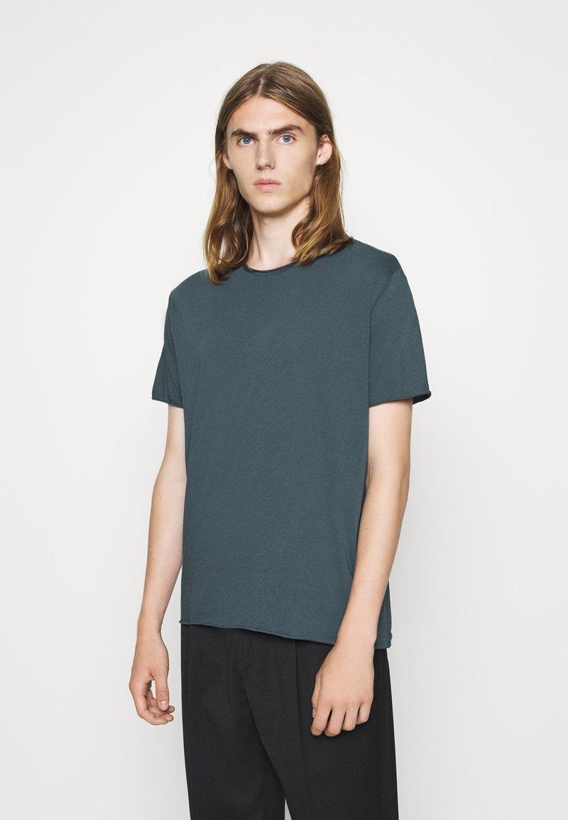 Filippa K - Basic T-shirt - charcoal blue