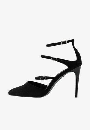 STRAPS - High heels - black