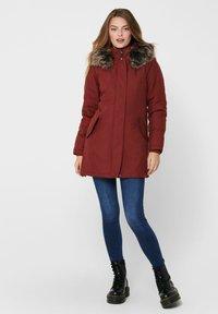 ONLY - ONLKATY  - Winter coat - fired brick - 1