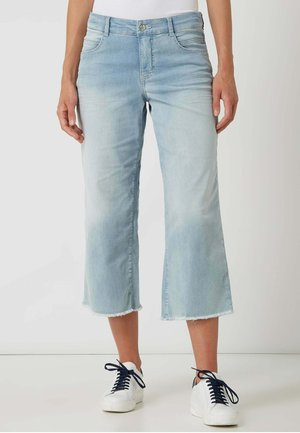 CULOTTE AUS MODELL 'GRETA' - Relaxed fit jeans - hellblau