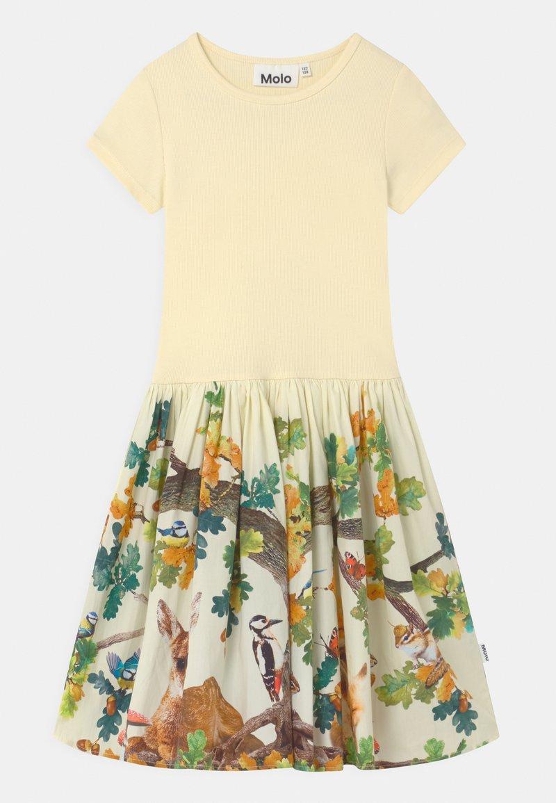 Molo - CISSA - Žerzejové šaty - yellow