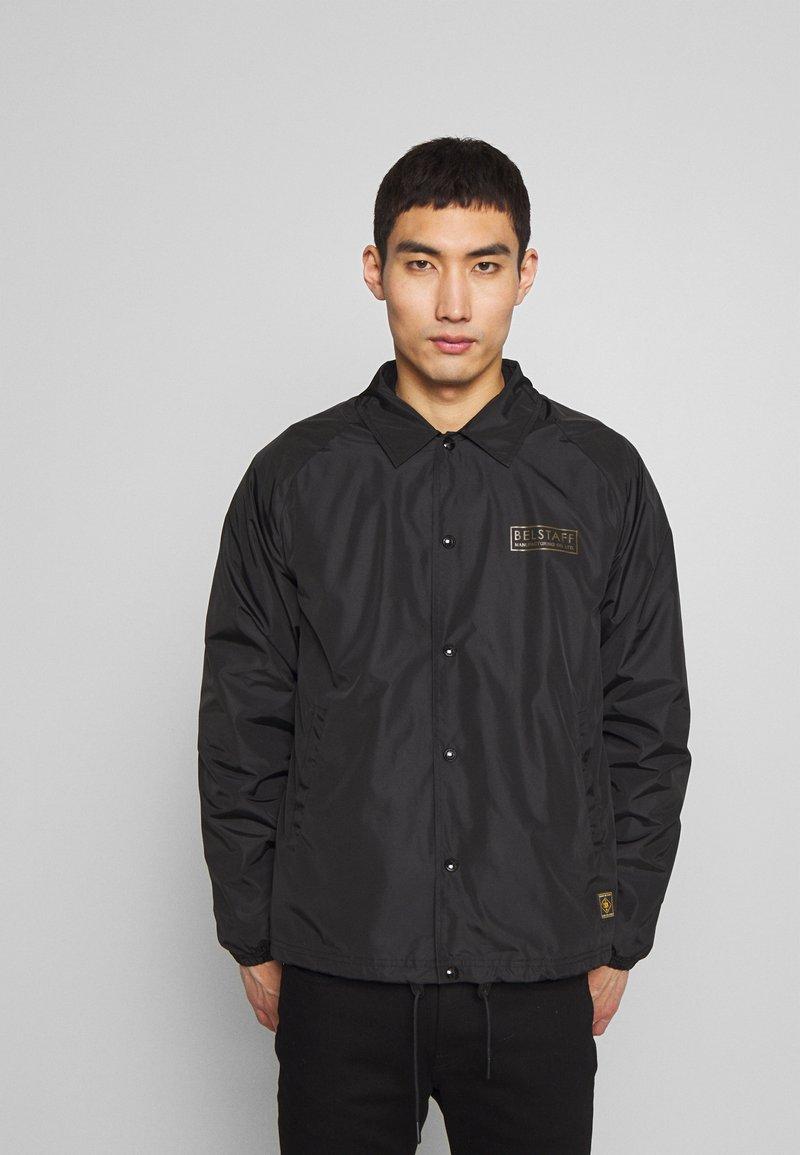 Belstaff - TEAMSTER JACKET PRINT - Summer jacket - black