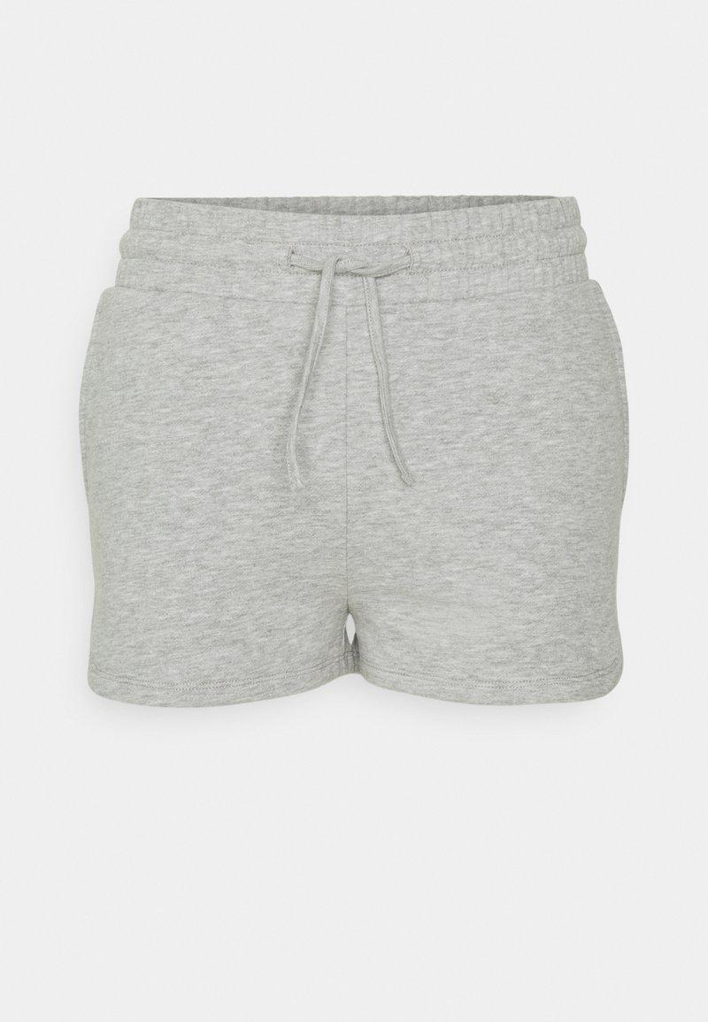 Vila - VIRUST - Shorts - light grey melange