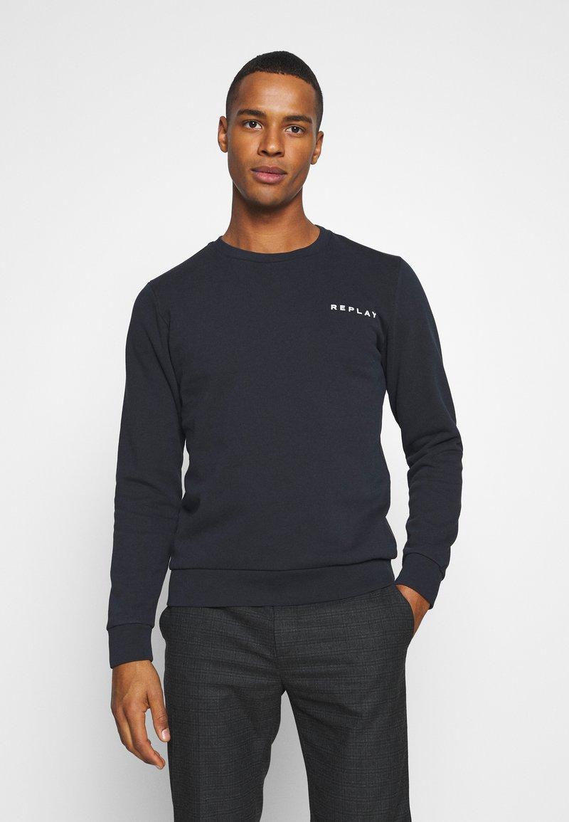 Replay - CREW NECK - Sweatshirt - blue