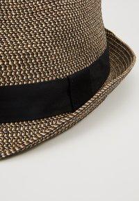 Burton Menswear London - 3 COLOUR TWIST TRILBY - Hat - tan - 5