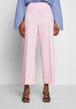 ALBAKB CROPPED PANTS - Bukse - primrose pink