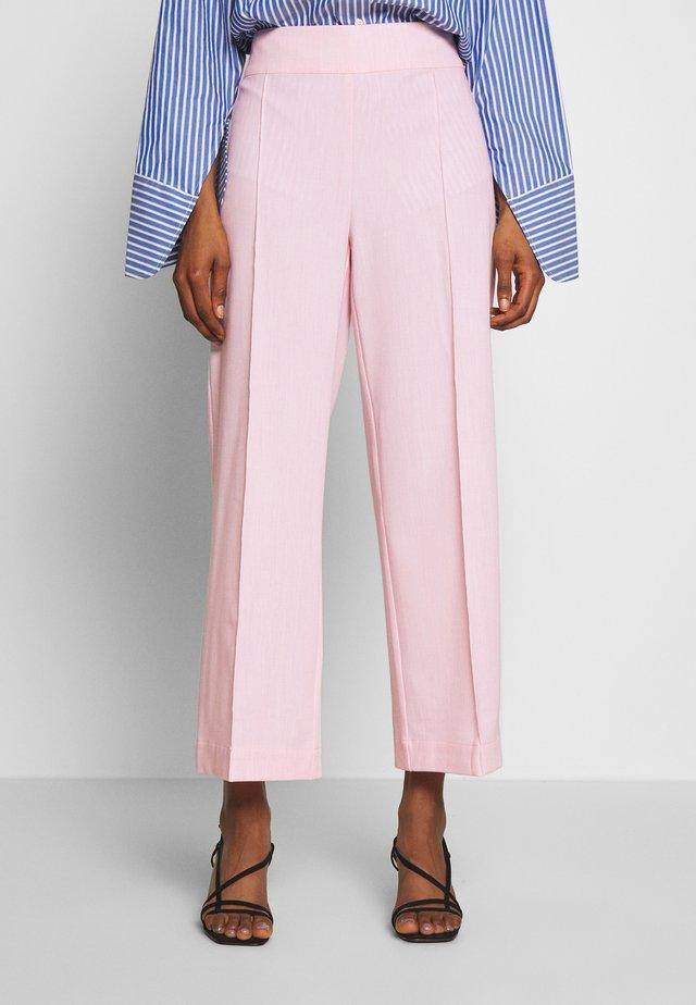 ALBAKB CROPPED PANTS - Kangashousut - primrose pink