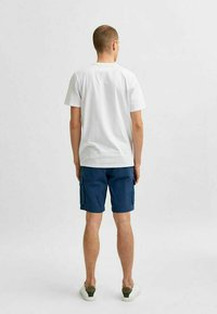 Selected Homme - STATEMENT - T-shirt med print - bright white - 2
