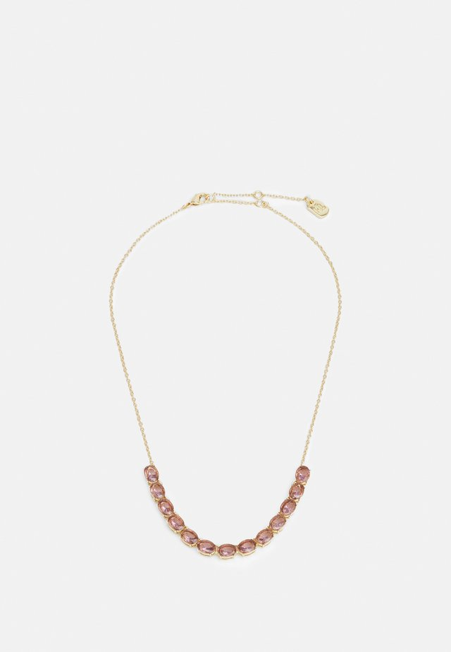 STONE FRONTAL - Necklace - pink