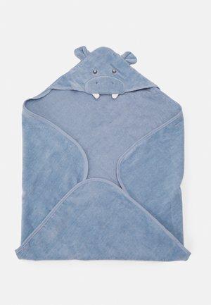 BATH HOODED TOWEL - Badmantel - blue