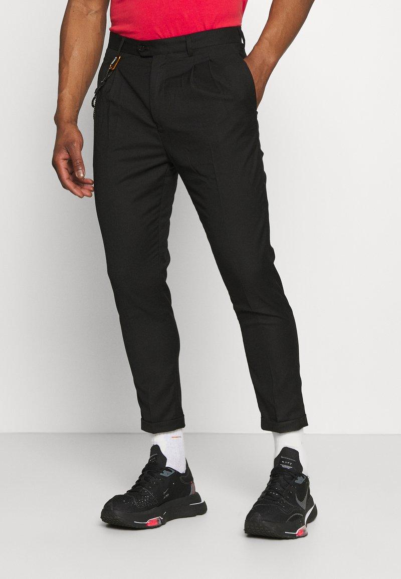 Gianni Lupo - PANT - Pantaloni - black