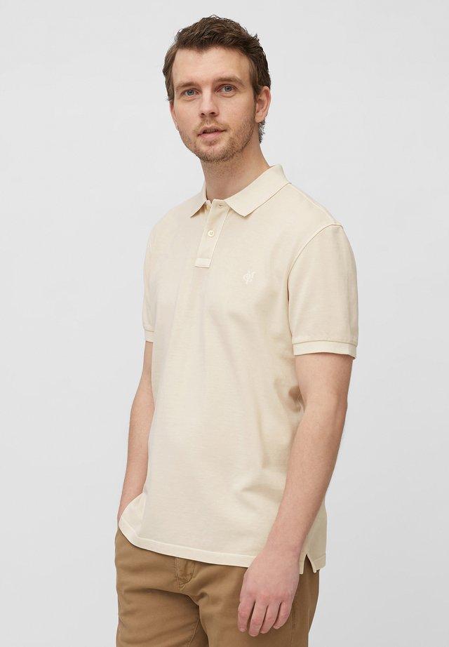 Polo shirt - linen white