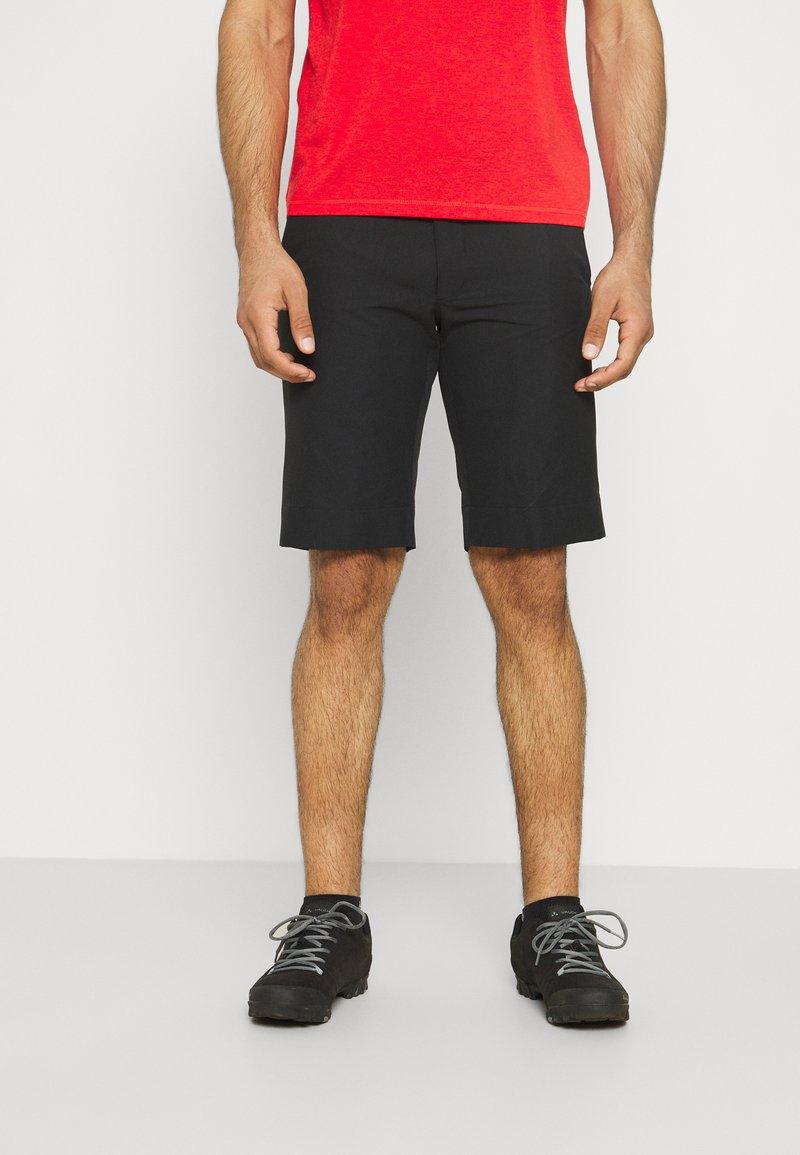 Vaude - MENS TURIFO SHORTS - Short de sport - black