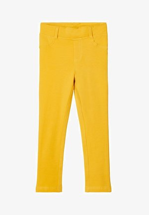 Leggings - Trousers - spicy mustard