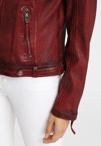 Gipsy - CASCHA LAMOV - Leather jacket - ox red - 6