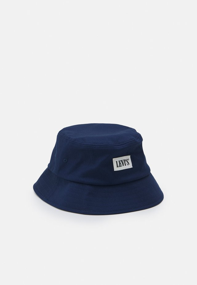SERIF BUCKET HAT UNISEX - Cappello - navy blue
