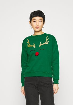 CHRISTMAS RUDOLPH  - Sweatshirt - green