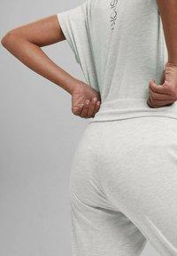 Esprit Sports - FASHION - Tracksuit bottoms - light grey - 4