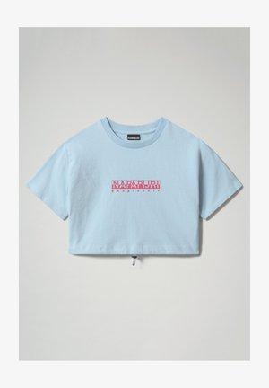 S BEATNIK - Print T-shirt - light blue dream