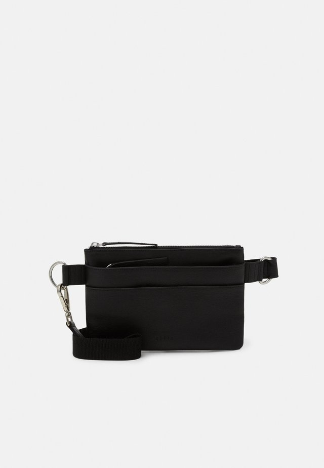 GROUND FLAT BUMBAG - Gürteltasche - black