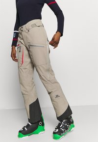 State of Elevenate - WOMENS BACKSIDE PANTS - Pantaloni da neve - tan - 4