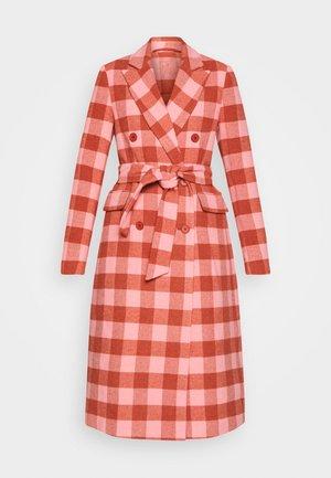 DUSTERLY GRUNGE - Classic coat - flamingo pink