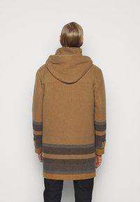 PS Paul Smith - MENS DUFFLE COAT - Classic coat - camel/blue - 2