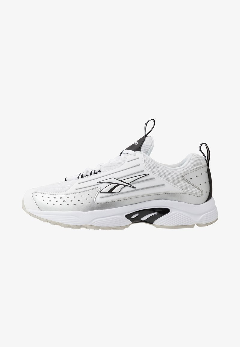 Reebok Classic - DMX SERIES 2K LIGHT BREATHABLE SHOES - Trainers - white/black/skull grey