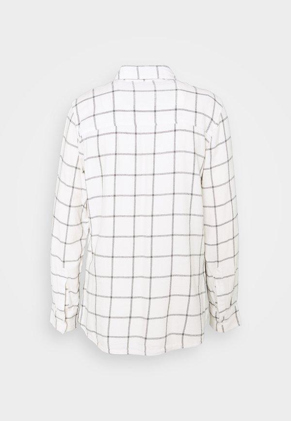 GAP DRAPEY PLAID - Koszula - white/biały SAKL