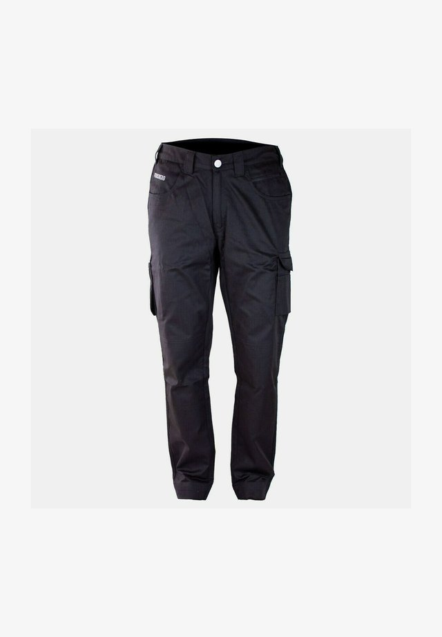 HALPA  - Cargo trousers - schwarz