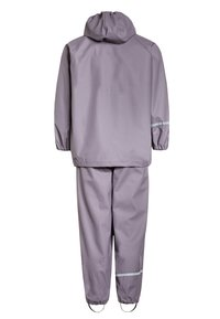 CeLaVi - RAINWEAR SUIT BASIC SET WITH FLEECE LINING - Rain trousers - nivana - 1
