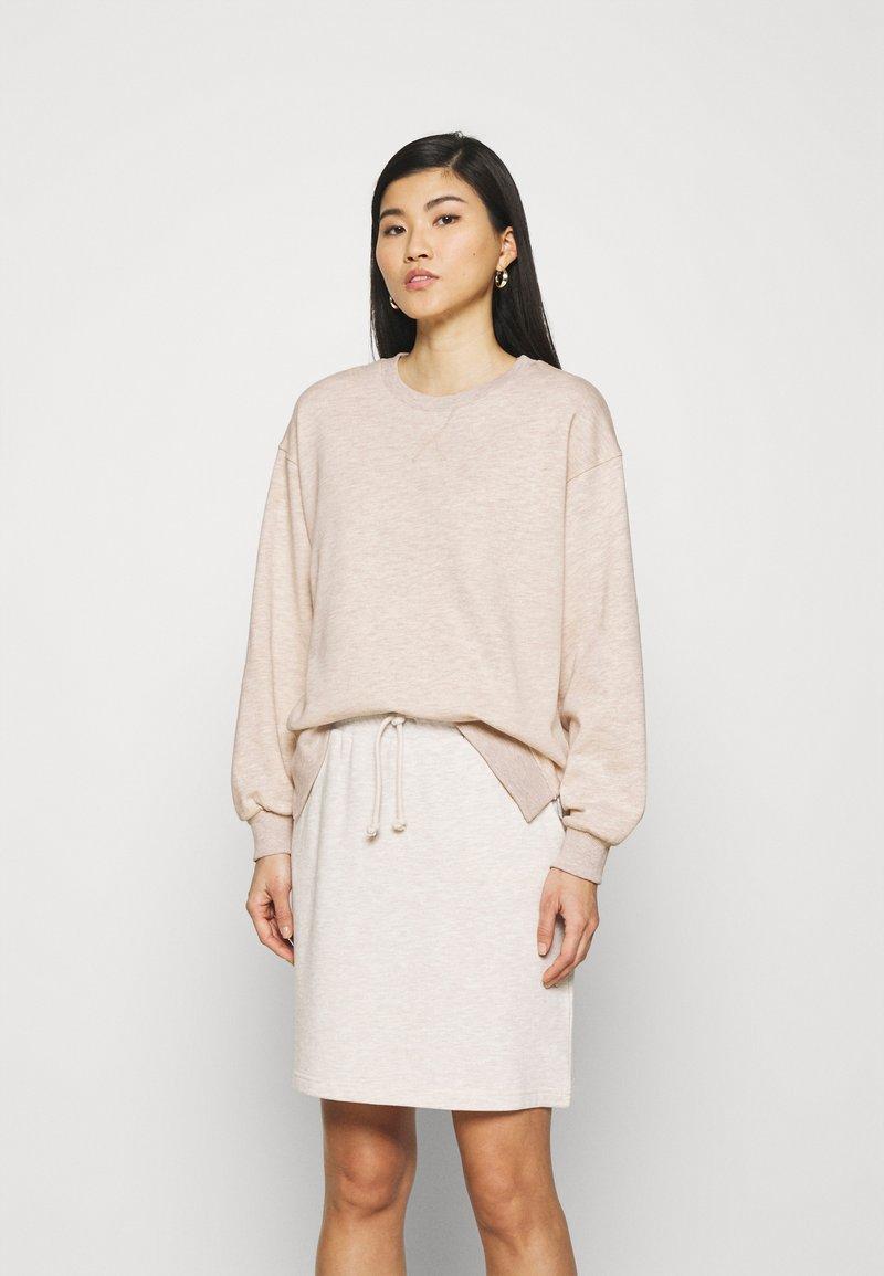 Freequent - FQRELAX - Sweatshirt - silver gray melange
