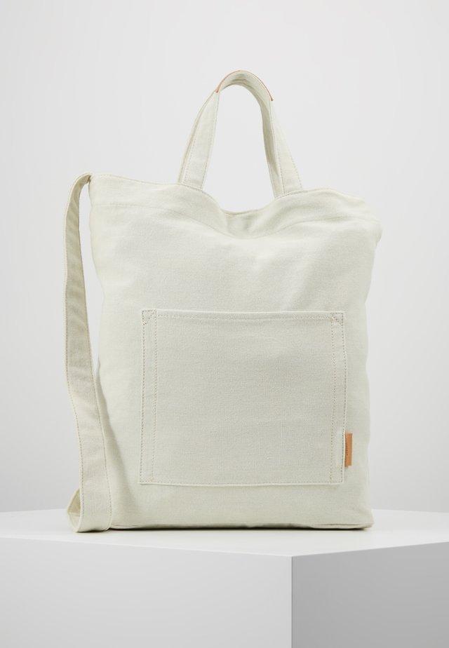 PALMA - Bolso shopping - off white