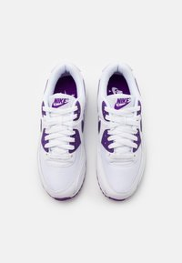 Nike Sportswear - AIR MAX 90 - Trainers - white/voltage purple/black - 3