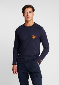 TOM TAILOR - LONGSLEEVE - Langarmshirt - sky captain blue - 0