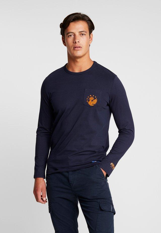 LONGSLEEVE - T-shirt à manches longues - sky captain blue