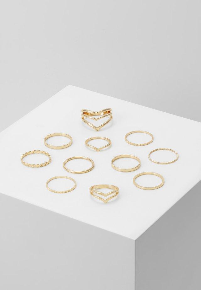 VIODIA 11 PACK - Anillo - gold-coloured