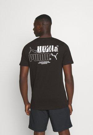 CLASSICS GRAPHICS LOGO TEE - T-shirt imprimé - black