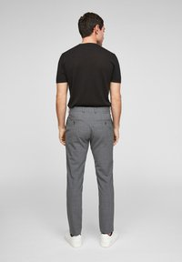 s.Oliver BLACK LABEL - MIT HYPERSTRETCH - Suit trousers - grey - 2