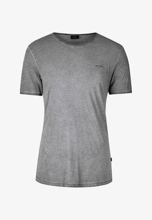 CLARK - Jednoduché triko - dark grey                  029