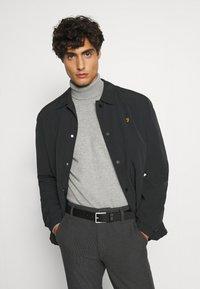 INDICODE JEANS - BURNS - Pullover - mottled light grey - 3