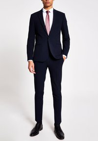 River Island - Suit trousers - navy - 1