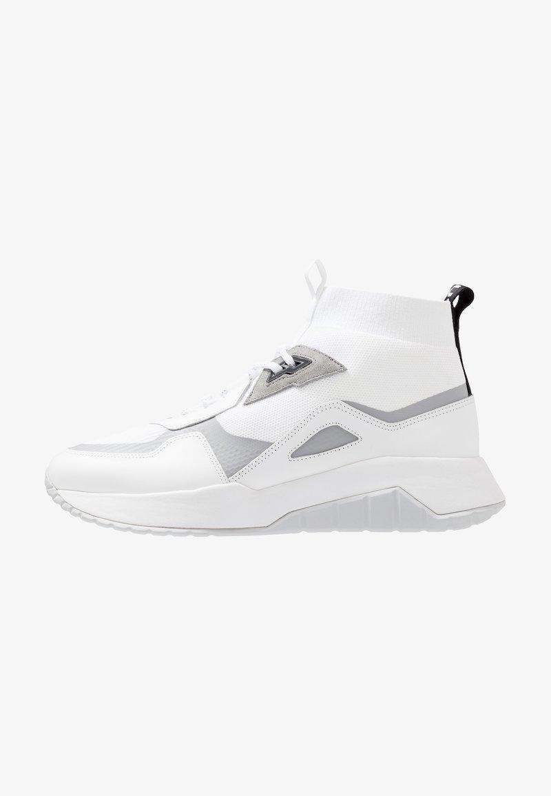 HUGO - ATOM - Zapatillas altas - white