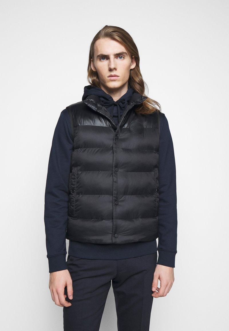HUGO - BALTINO - Waistcoat - black
