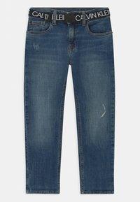 Calvin Klein Jeans - REG STRAIGHT - Straight leg jeans - blue - 2