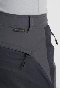 Jack Wolfskin - DRAKE FLEX PANTS - Outdoor trousers - phantom - 5